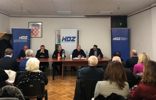 PROŠIRENA SJEDNICA PODRUČNOG ODBORA NOVI ZAGREB ISTOK S GOSTOM G. MARIOM KAPULICOM, 31. 01. 2019.