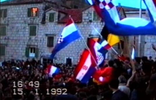 DAN MEĐUNARODNOG PRIZNANJA REPUBLIKE HRVATSKE - 15. 01. 1992.